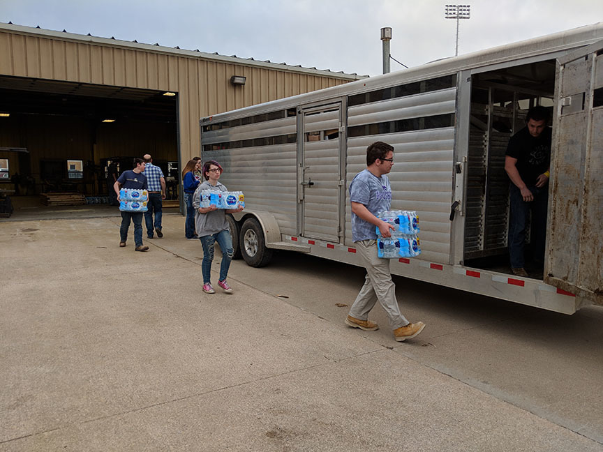 MHS Clubs Help with Nebraska Relief Efforts