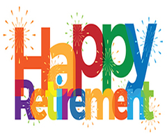 Congratulations and best wishes to our retirees!