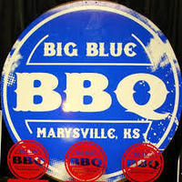 Big Blue BBQ Wristbands