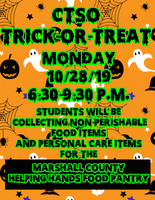 Trick-or-Treat So Others Can Eat Service Project