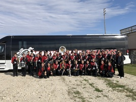 High School band receives superior rating