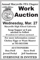 FFA Work Auction