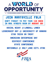 Join FBLA today!